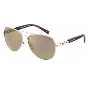 Michael Kors Fiji rose gold sunglasses
